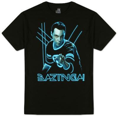 Big Bang Theory- Glowing Sheldon