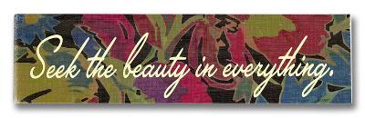 Seek the Beauty