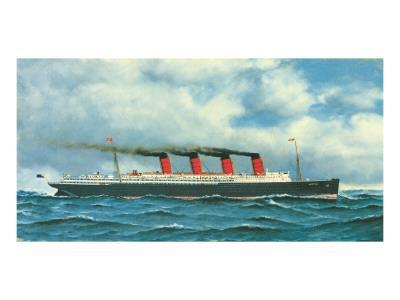 Lusitania, c.1908