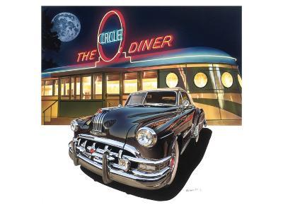Pontiac Chieftain '50 at The Circle Diner