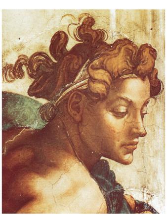 Chapel Sistine, The Drunkenness of Noah (detail)