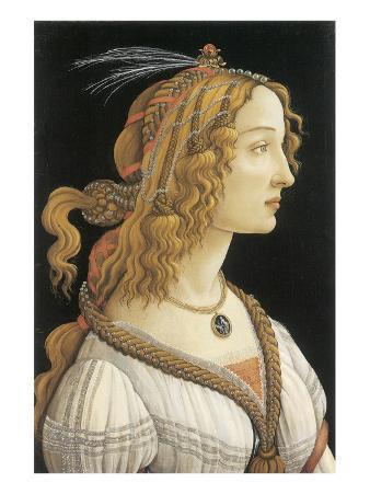 Simonetta Vespucci in Mythological Guise