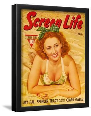 Joan Blondell - Screen Life Magazine Cover 1930's