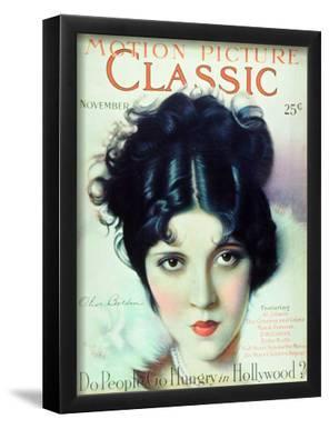 Olive Borden - Motion Picture Classic Magazine Cover 1920's