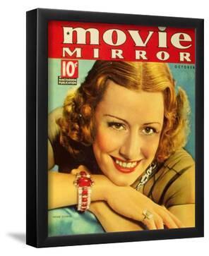 Irene Dunne - Movie Mirror Magazine Cover 1930's