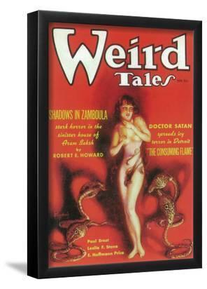 Weird Tales - Pulp Poster, 1933