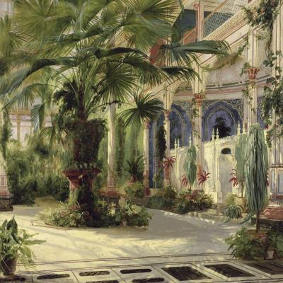 Interior of the Palm House at Potsdam I