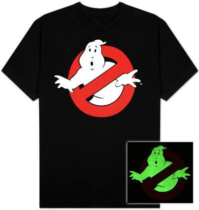 Ghostbusters- Ghost Logo (Glow in the Dark)