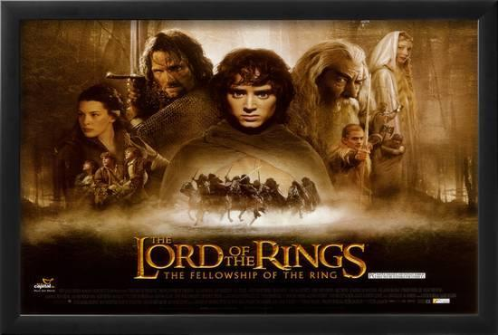 lord of the rings 1 the fellowship of the ring posters at