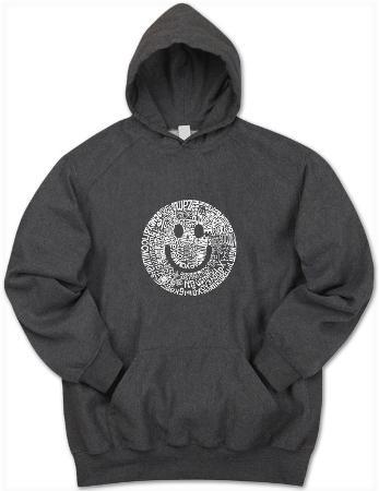 Hoodie: Smile Face