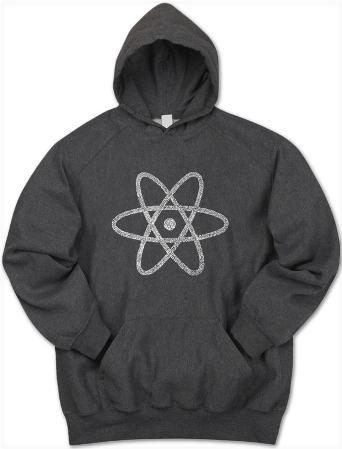 Hoodie: Atom out of the Periodic Table
