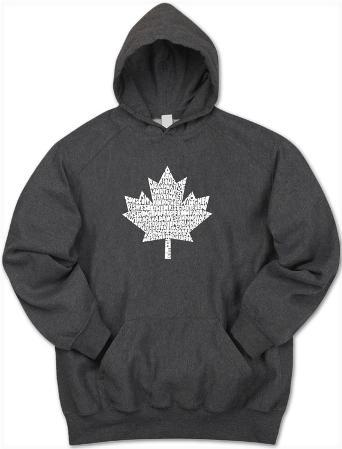 Hoodie: Canada National Anthem
