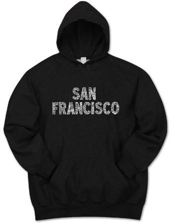 Hoodie: San Francisco Neighborhoods