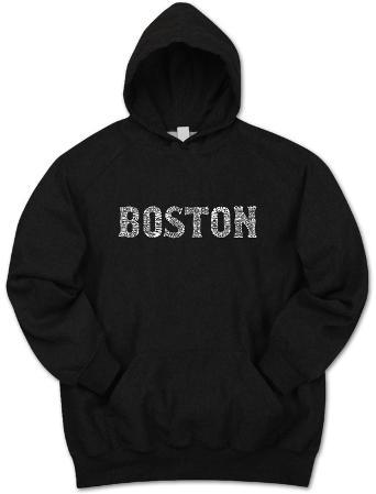 Hoodie: Boston Neighborhoods
