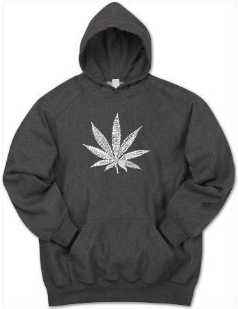 Hoodie: Marijuana Leaf