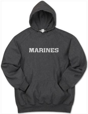 Hoodie: Lyrics To The Marines Hymn