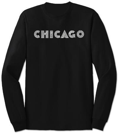 Long Sleeve: Chicago Neighborhoods