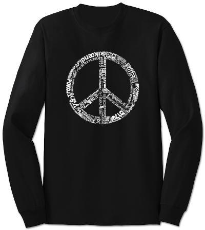 Long Sleeve: Peace in 77 Languages