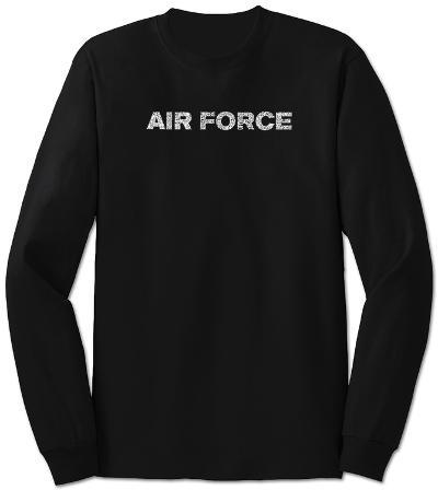 Long Sleeve: Lyrics To The Air Force Song