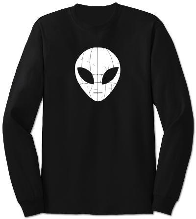 Long Sleeve: I Come in Peace Alien