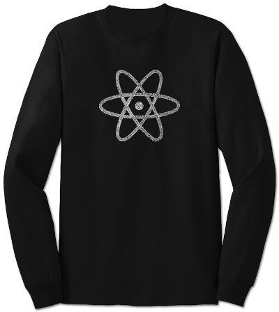 Long Sleeve: Atom out of the Periodic Table