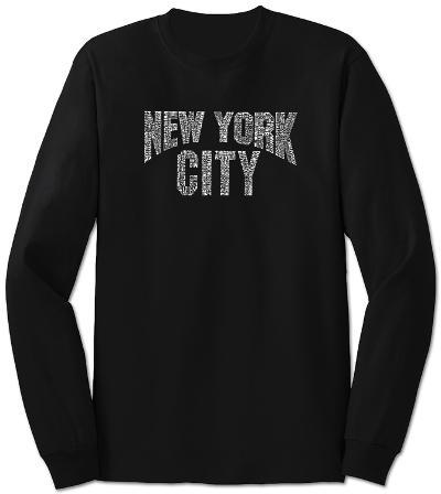 Long Sleeve: NYC Neighborhoods
