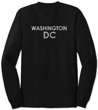 Long Sleeve: Washington DC Neighborhoods