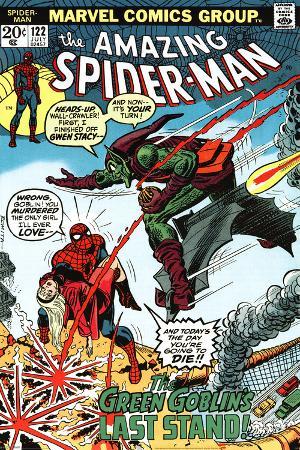 Marvel Retro - Spider-Man vs Green Goblin
