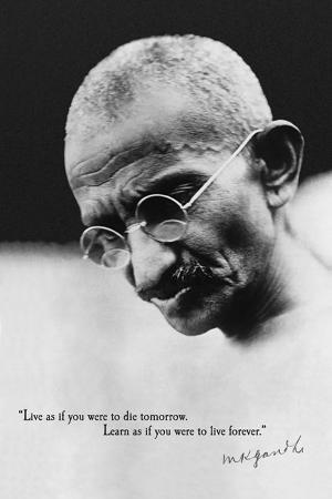 Gandhi - Live Forever