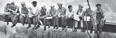 New York - Lunchmen Full Bleed