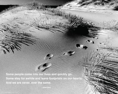 Footprints - Quote