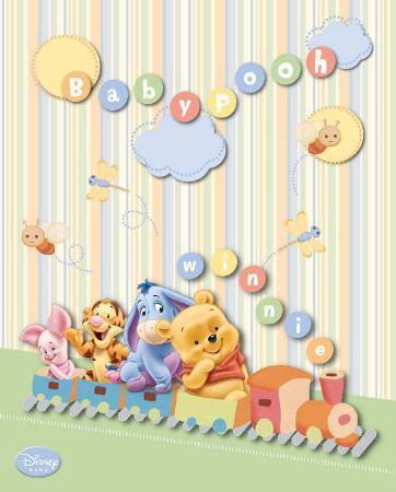 Disney Baby Pooh Train