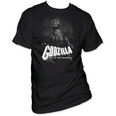 Godzilla - B&W King of the monsters