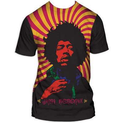 Jimi Hendrix - Swirl Poster