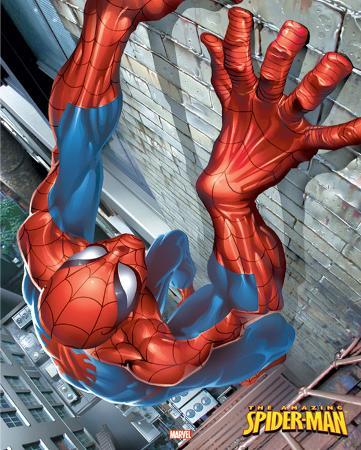 Spider-man - Climbing