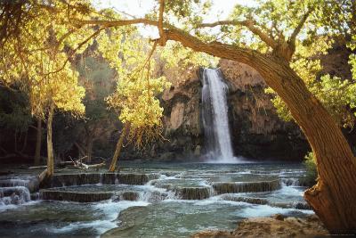 Waterfall on Havasu Creek