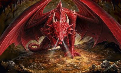 Anne Stokes - Dragons Lair