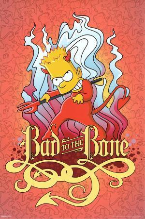 Simpsons – Bad to the Bone