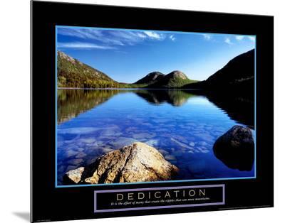 Dedication: Jordan Pond