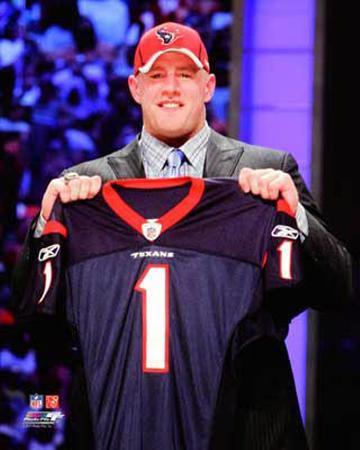 J.J. Watt 2011 NFL Draft #11 Pick