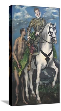 Saint Martin and the Begger, c.1597-99