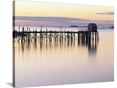 Old Wharf at Dawn