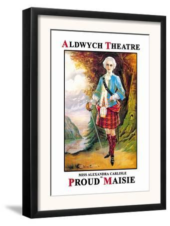 Aldwych Theatre Presents Miss Alexandra Carlisle as Proud Maisie