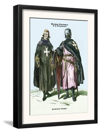 German Costumes: Hospitaller Knights
