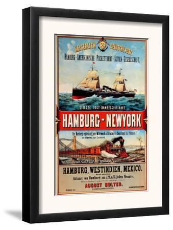 Direct Post Office Shipping Hamburg to New York