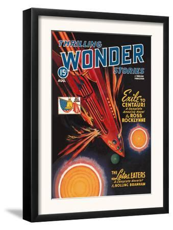 Thrilling Wonder Stories: Rocket Ship Troubles