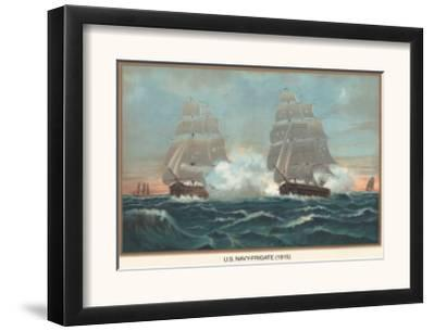 U.S. Navy Frigate, 1815