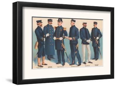 U.S. Navy Uniforms 1899