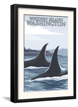 Orca Whales #1, Whidbey, Washington