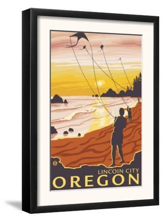 Beach & Kites, Lincoln City, Oregon